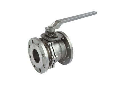 2PC Flanged Ball Valve ANSI CLASS